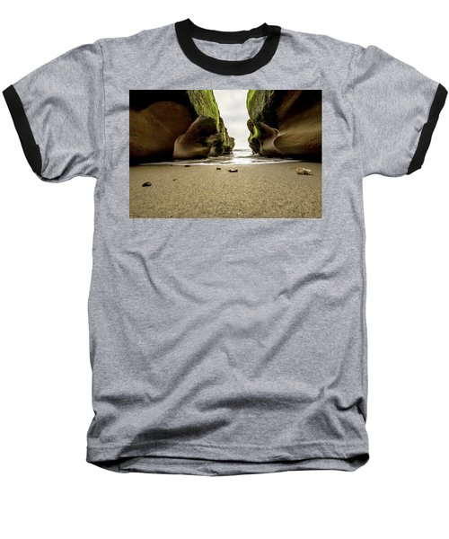 Baseball T-Shirt featuring the photograph Only At Low Tide by Ryan Weddle