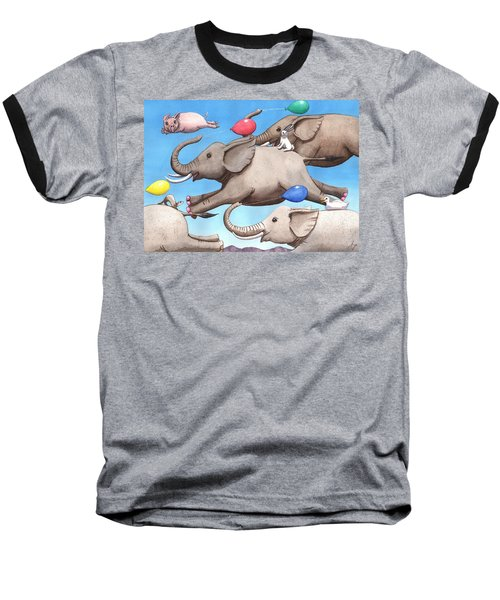 Only Way To Fly Baseball T-Shirt