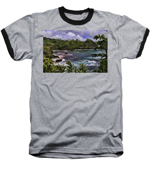 Onomea Bay Hawaii Baseball T-Shirt