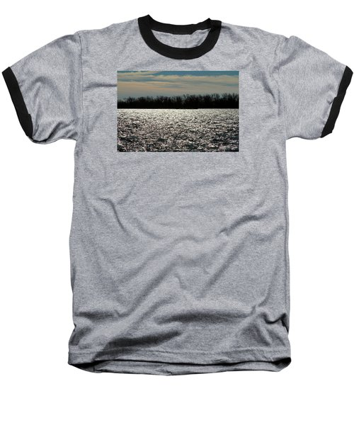Baseball T-Shirt featuring the photograph Ontario Winter Reflections by Valentino Visentini