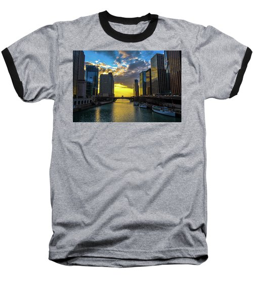 Onto The Lake Baseball T-Shirt