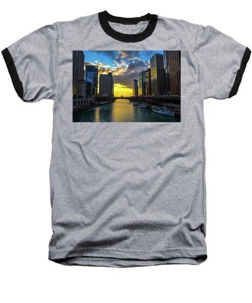 Onto The Lake Baseball T-Shirt