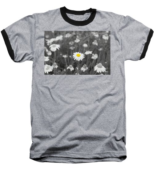 Baseball T-Shirt featuring the photograph Oopsy Daisy by Benanne Stiens
