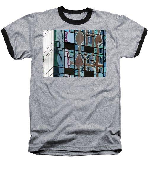Op Art Windows I Baseball T-Shirt
