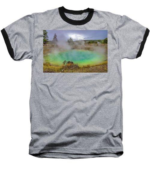 Opal Spring Yellowstone National Park Baseball T-Shirt