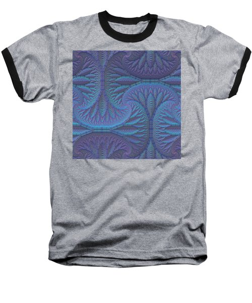 Baseball T-Shirt featuring the digital art Opalescence by Lyle Hatch