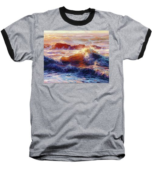 Opalescent Sea Baseball T-Shirt