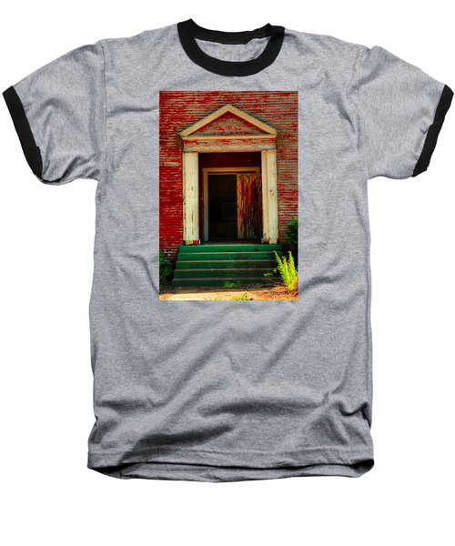 Open Door Baseball T-Shirt by Ester  Rogers