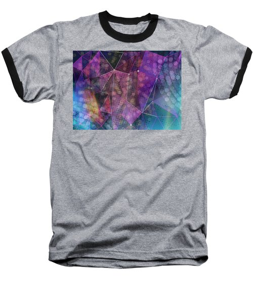 Open Geometric Baseball T-Shirt