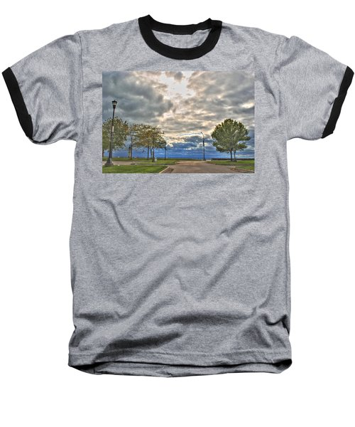 Baseball T-Shirt featuring the photograph Open Heavens  by Michael Frank Jr