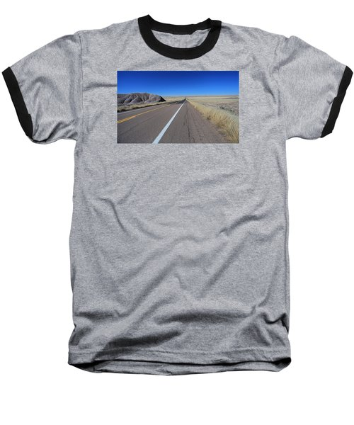 Baseball T-Shirt featuring the photograph Open Road by Gary Kaylor