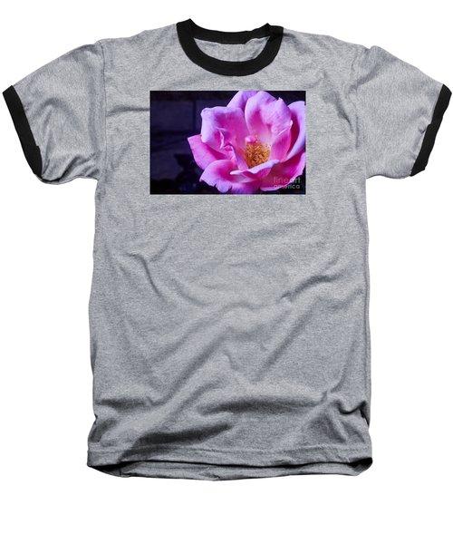 Open Rose Baseball T-Shirt