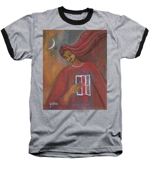 Open The Windows To Your Soul Baseball T-Shirt