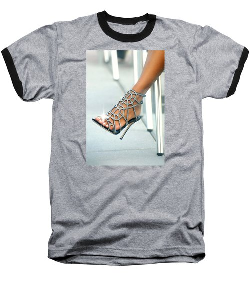 Open Toe Baseball T-Shirt by Diana Angstadt