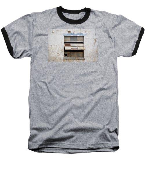Opened Window Baseball T-Shirt by Sandra Church