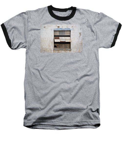 Opened Window Baseball T-Shirt