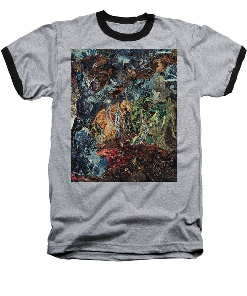 Opening Of The Fifth Seal After El Greco Baseball T-Shirt by Joshua Redman