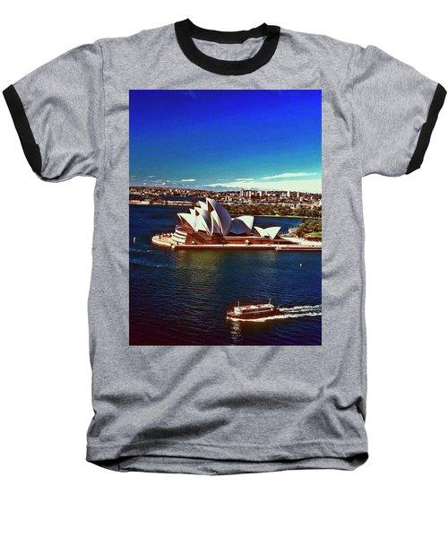 Opera House Sydney Austalia Baseball T-Shirt