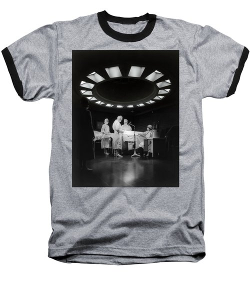 Baseball T-Shirt featuring the photograph Operating Room Theater 1933 by Daniel Hagerman