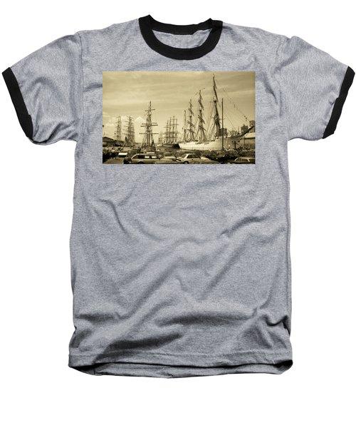 Operation Sail 1992 Brooklyn Baseball T-Shirt by John Schneider
