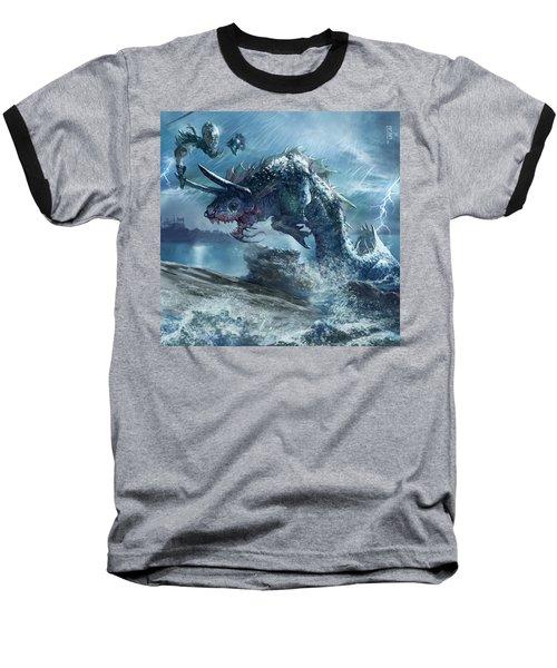 Ophiotaur Attack Baseball T-Shirt