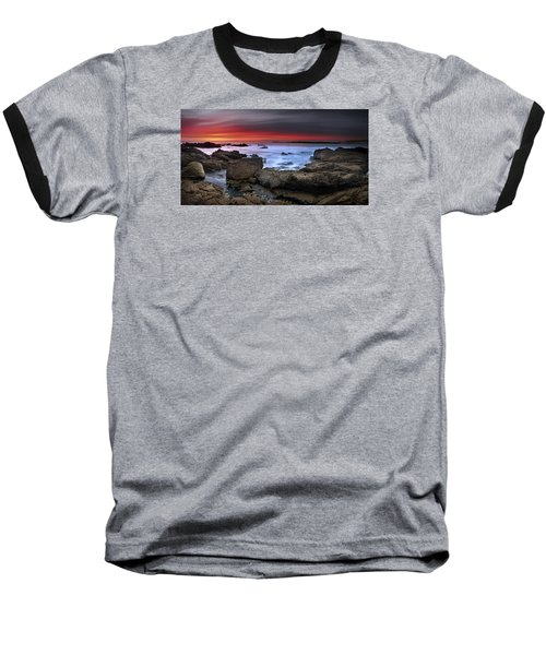Baseball T-Shirt featuring the photograph Opposites Attract by John Chivers