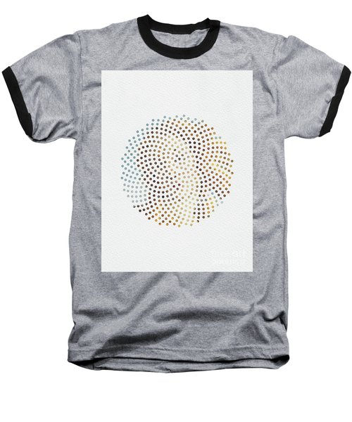 Baseball T-Shirt featuring the digital art Optical Illusions - Famous Work Of Art 2 by Klara Acel