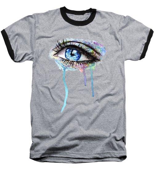 Optics  Baseball T-Shirt by Herb Strobino