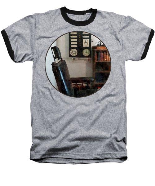 Optometrist - Eye Doctor's Office With Eye Chart Baseball T-Shirt by Susan Savad