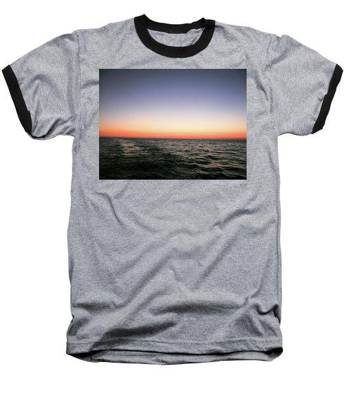 Orange And Black Baseball T-Shirt