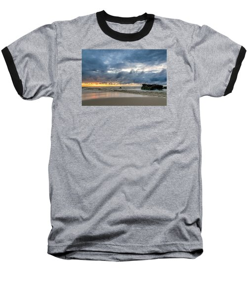 Orange And Blue Baseball T-Shirt