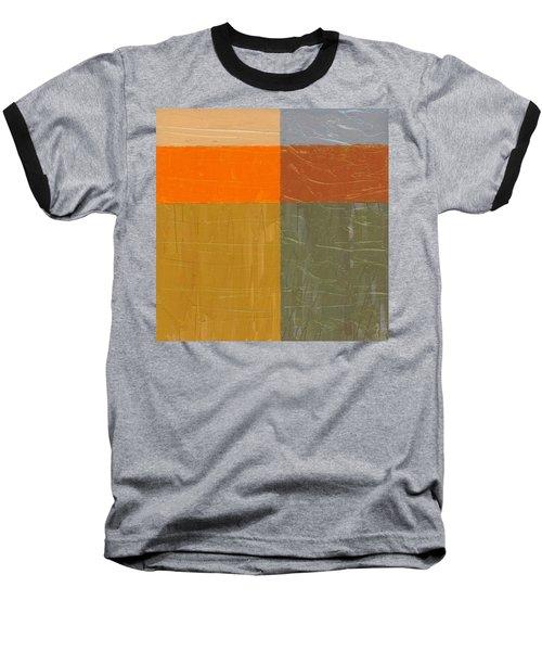 Orange And Grey Baseball T-Shirt