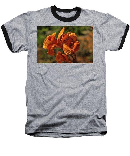 Orange Beauty Baseball T-Shirt