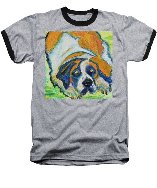 Orange Bernard Baseball T-Shirt