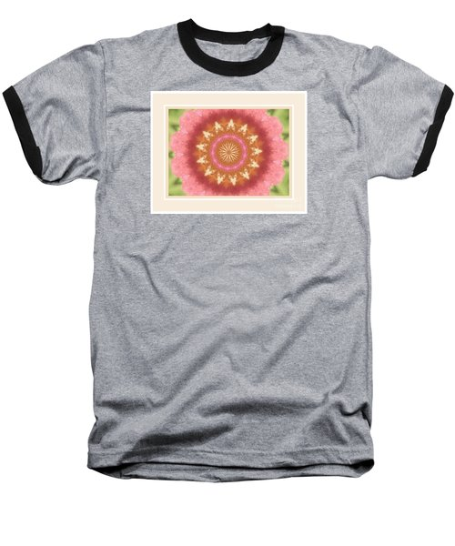 Orange Bloom Baseball T-Shirt