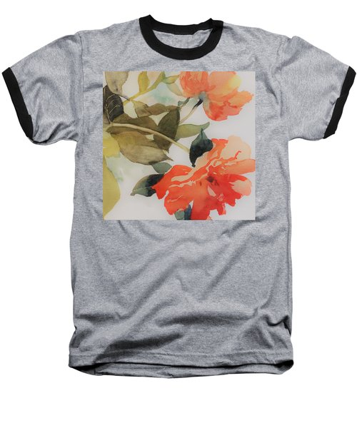 Orange Blossom Special Baseball T-Shirt by Elizabeth Carr