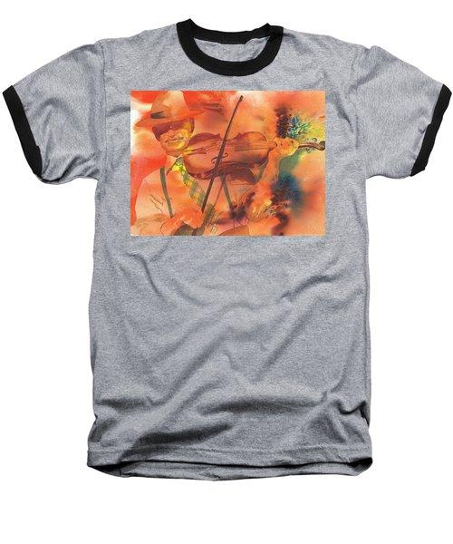 Orange Blossom Special Baseball T-Shirt by Tara Moorman