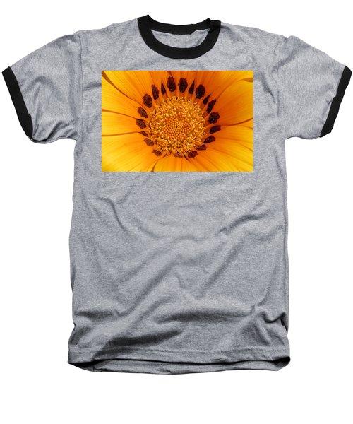 Orange Burst - Daisy Baseball T-Shirt