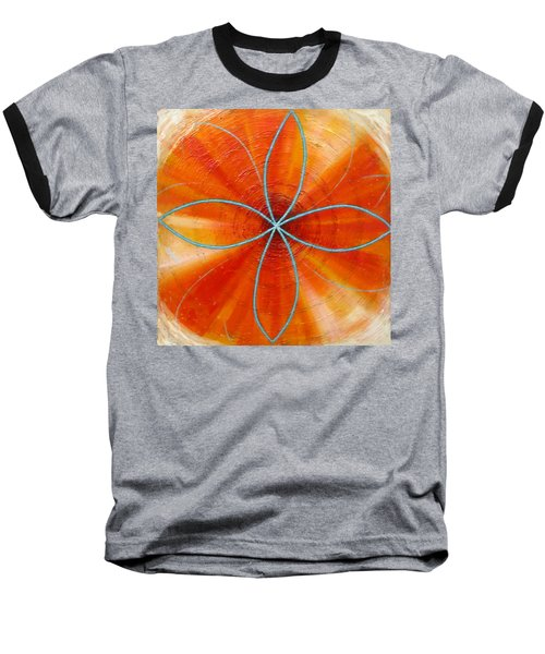 Orange Chakra Baseball T-Shirt
