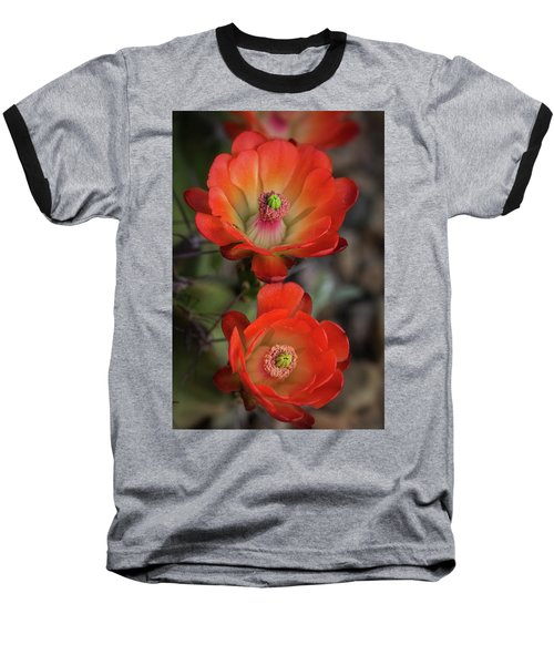 Baseball T-Shirt featuring the photograph Orange Claret Dreams  by Saija Lehtonen