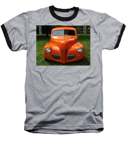 Orange Classic  Baseball T-Shirt