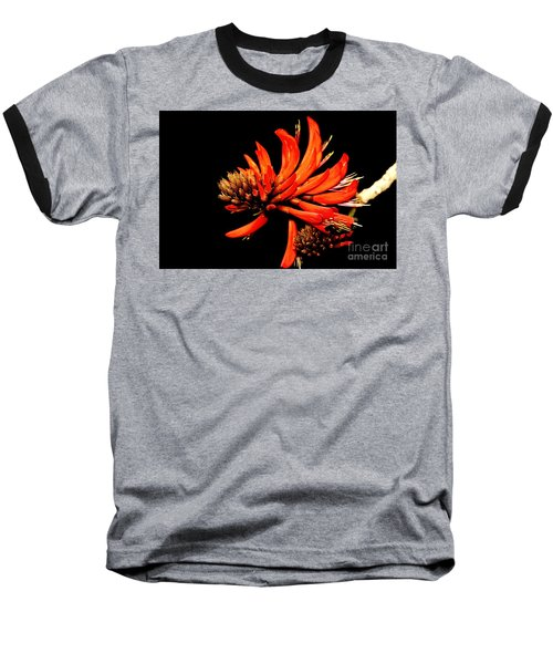 Baseball T-Shirt featuring the photograph Orange Clover II by Stephen Mitchell