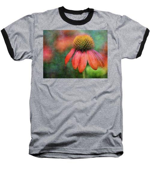 Orange Coneflower 2576 Idp_2 Baseball T-Shirt