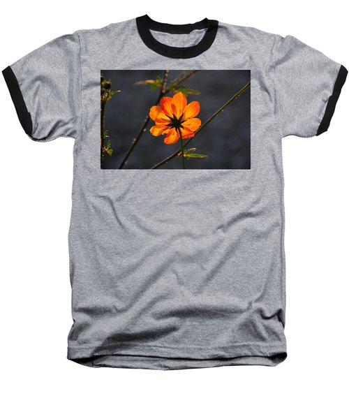 Orange Cosmo Baseball T-Shirt