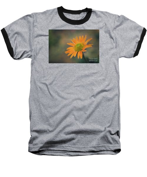 Orange Echinacea Dreams Baseball T-Shirt