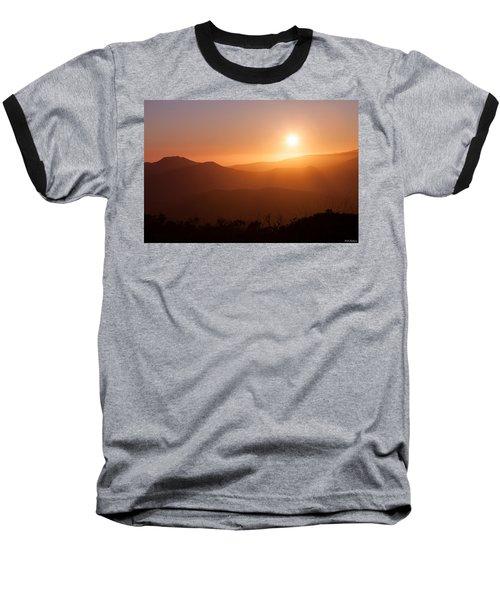 Orange Euphoria Baseball T-Shirt