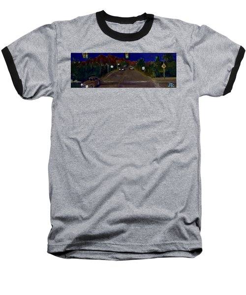 Orange Grove And La Canada Baseball T-Shirt by Julie Todd-Cundiff