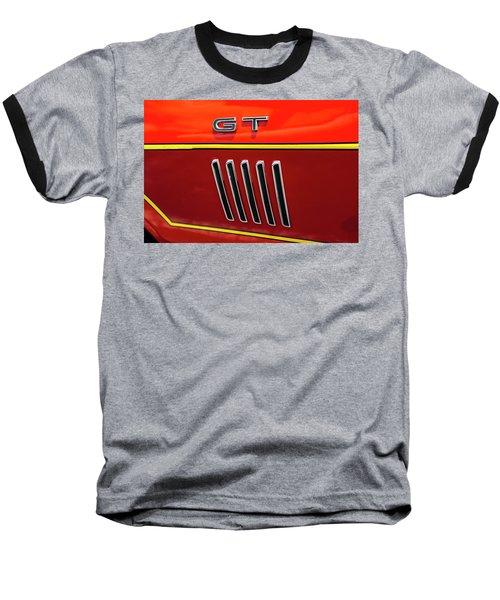 Orange Gt Baseball T-Shirt