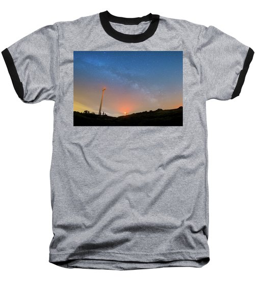 Baseball T-Shirt featuring the photograph Orange Is The New Sky by Bruno Rosa