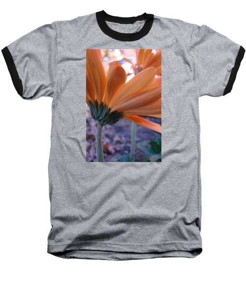 Orange Lady Baseball T-Shirt